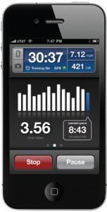 RunKeeper Pro for iPhone screenshot